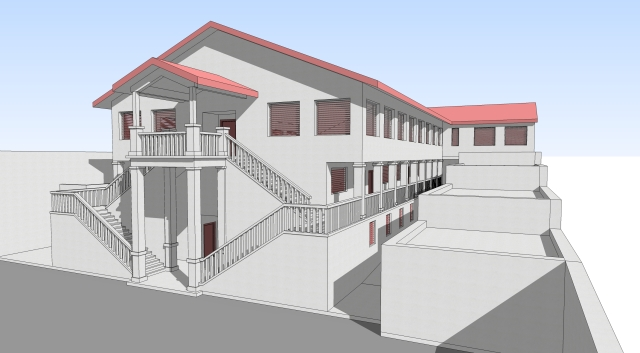MoH School_model01_view02